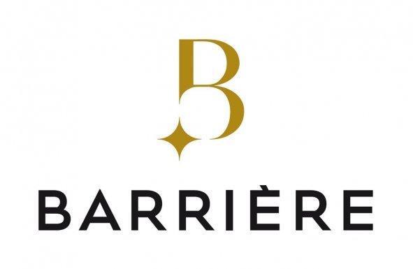 Logo groupe Lucien Barrière, le théâtre du Casino a été géré par Bruno TALOUARN